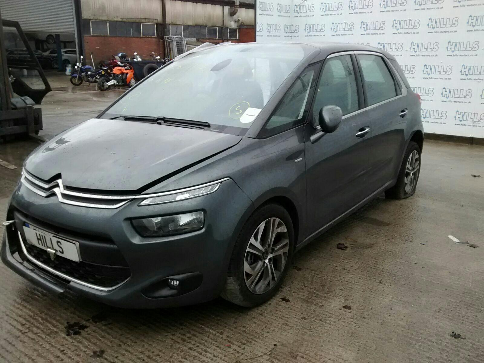 2014 citroen c4 picasso 2013 cloth interior front rear seats door cards ebay - C4 picasso interior ...
