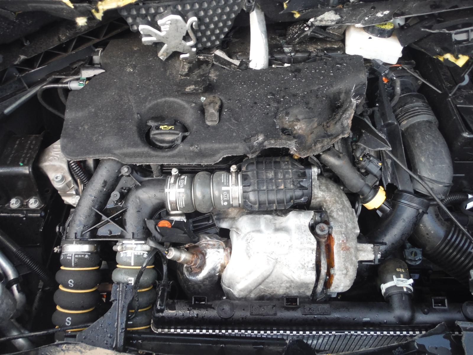 2013 PEUGEOT 3008 1.6 Hdi Turbo Diesel Engine 9hd Code 19k
