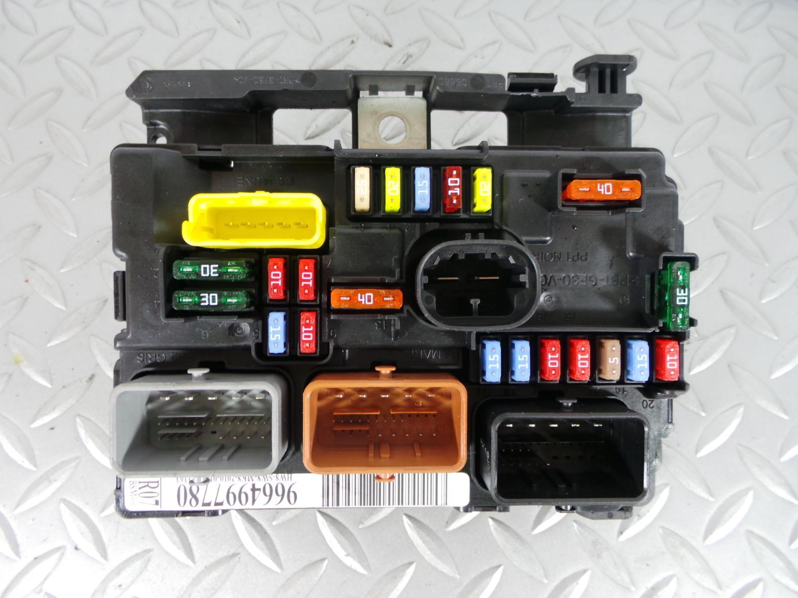 2010 peugeot 207 1 4 petrol lock set ecu   bsi kit  engine
