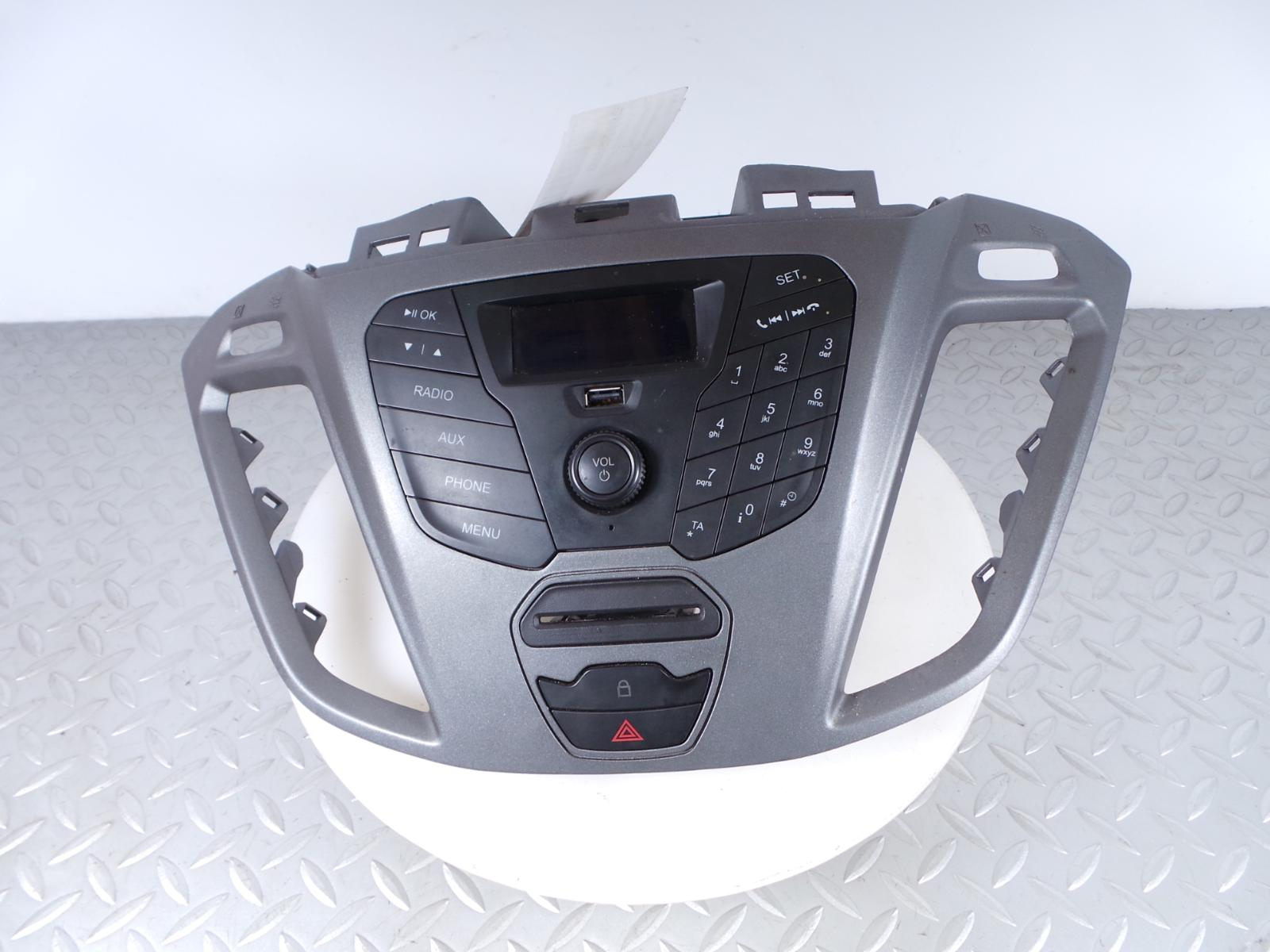 2014 ford transit custom cd player radio display bk2t. Black Bedroom Furniture Sets. Home Design Ideas