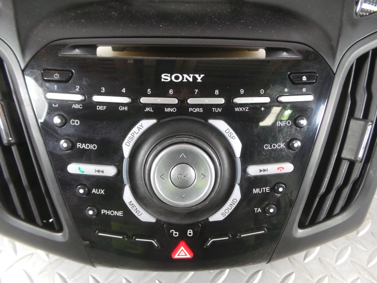 2012 ford focus st 2 sony dab ahu black cd player radio. Black Bedroom Furniture Sets. Home Design Ideas