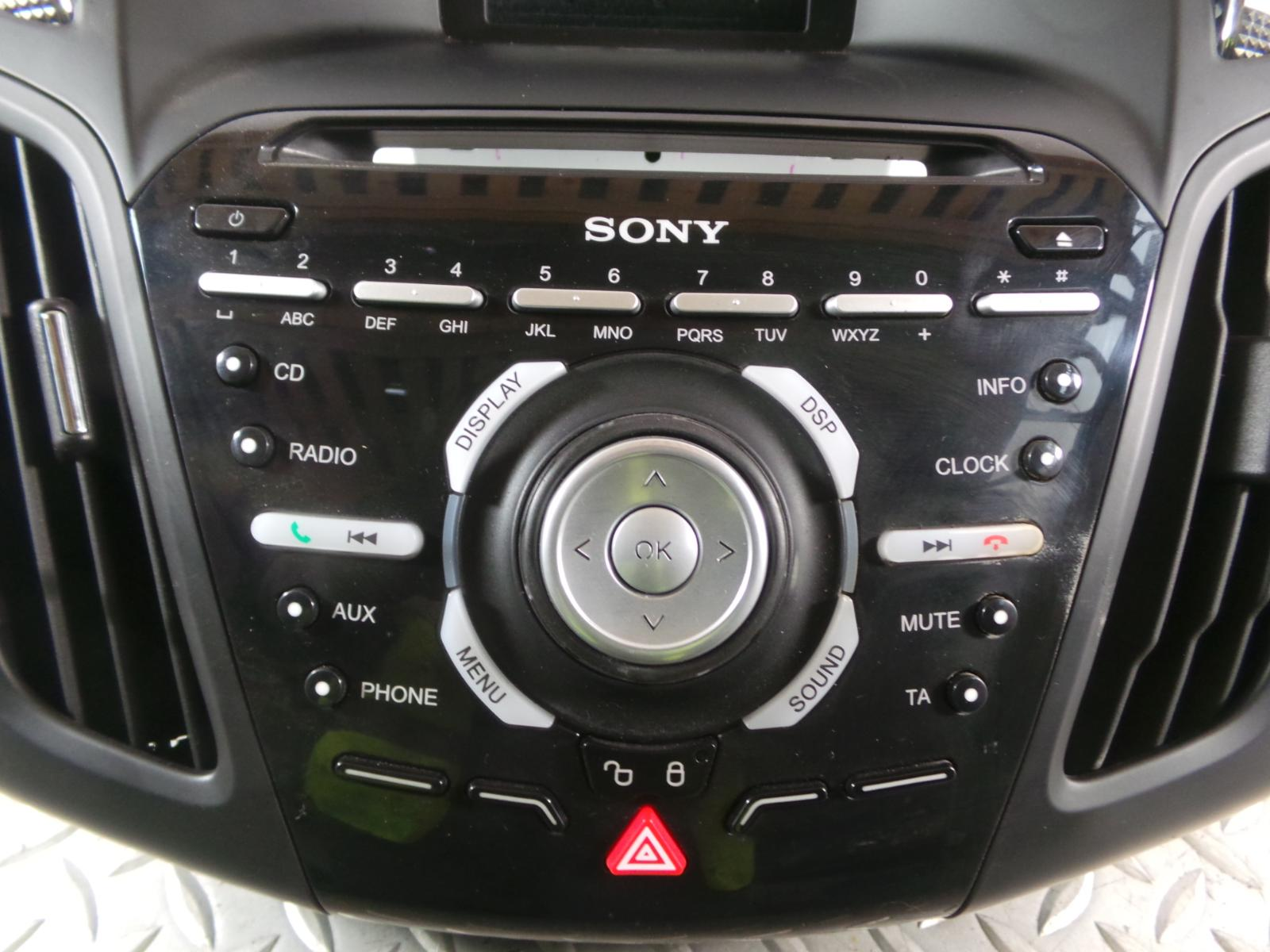 2014 ford focus sony dab ahu cd player radio head unit. Black Bedroom Furniture Sets. Home Design Ideas