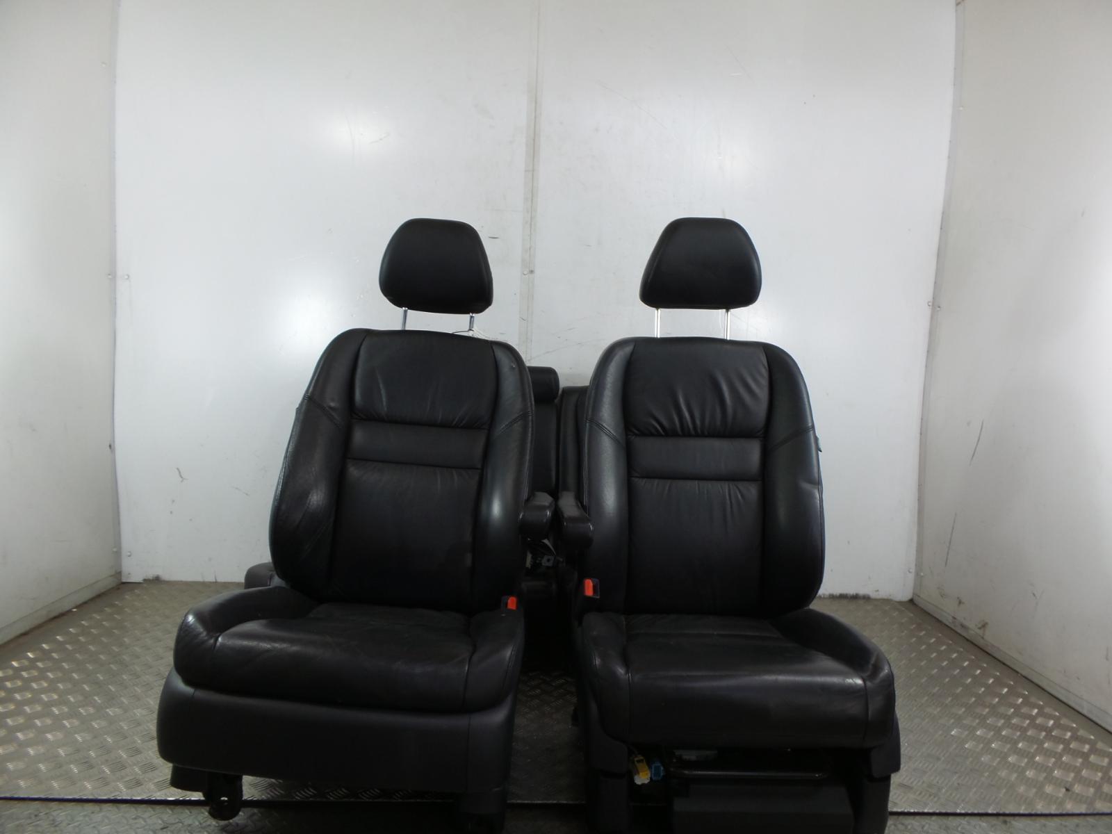 2007 Honda Crv 2007 2012 Black Leather Seats Interior Front Rear Ebay