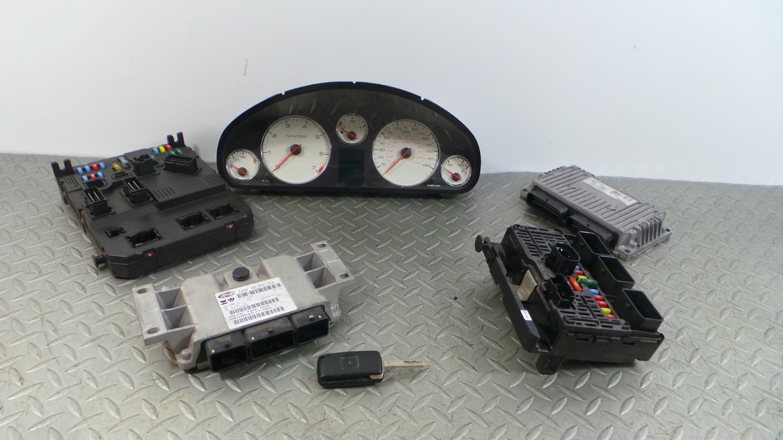 2005 peugeot 407 2 0 essence ecu bsi kit lock set iaw 058 ebay. Black Bedroom Furniture Sets. Home Design Ideas